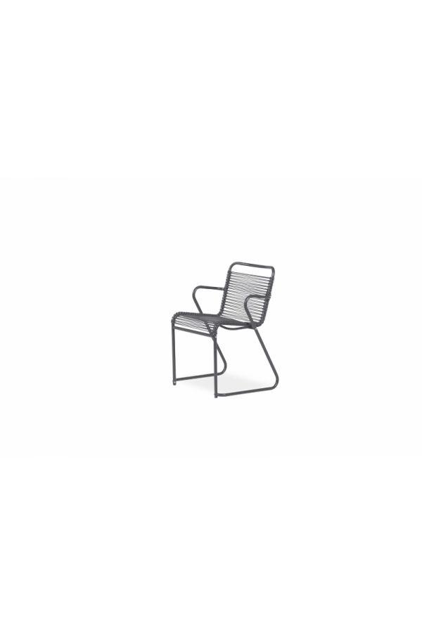 Lido Dining Armchair 069 PVC NE Sort