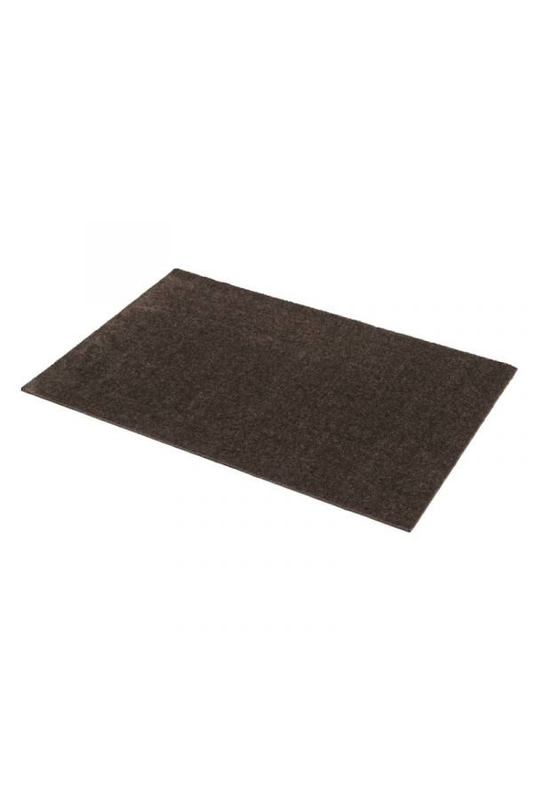 00615 polyamid 60x90 Unicolor Dark Brown