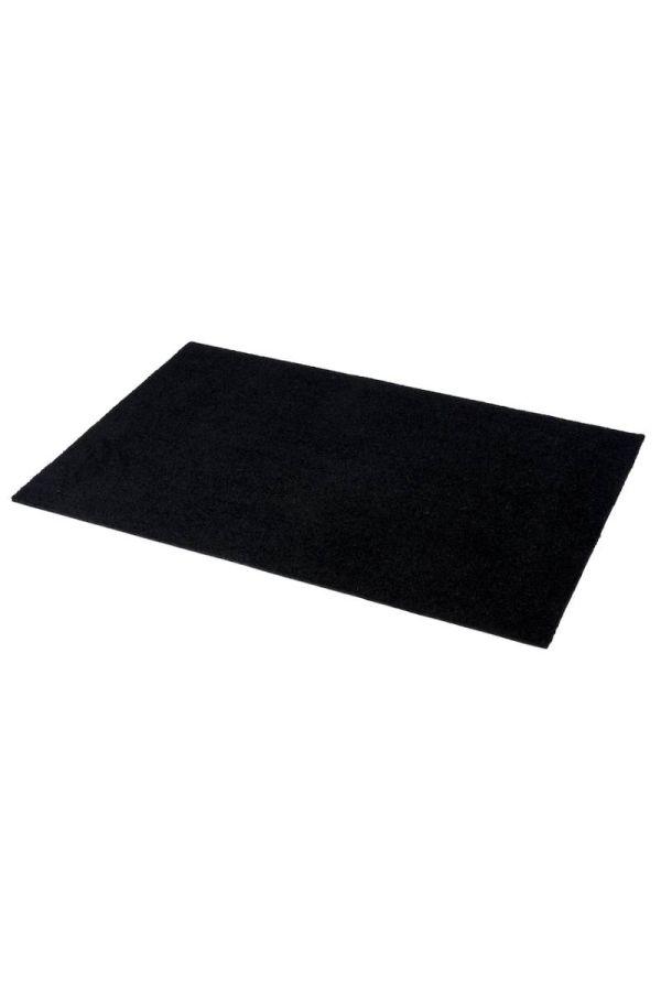 00586 polyamid 60x90 Unicolor Black