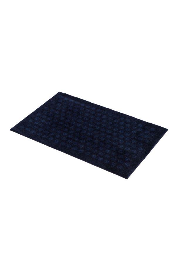 00653 polyamid 40x60 Dot Dark blue