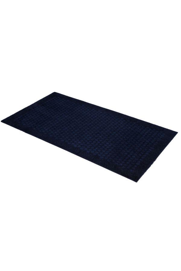 00655 polyamid 67x120 Dot Dark blue
