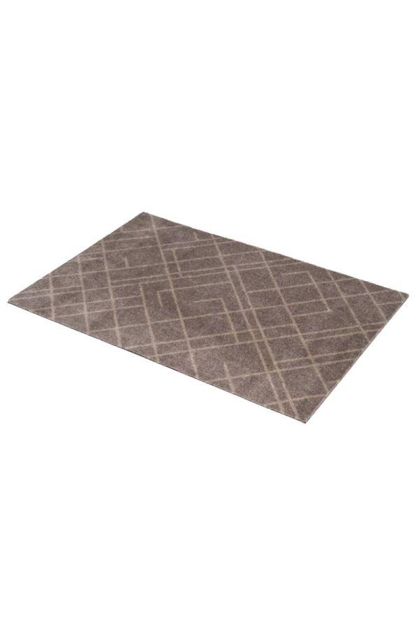 00637 polyamid 60x90 Lines sand