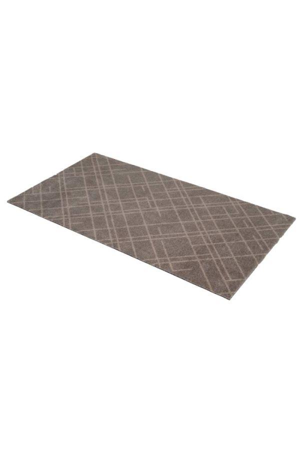 00638 polyamid 67x120 Lines Sand