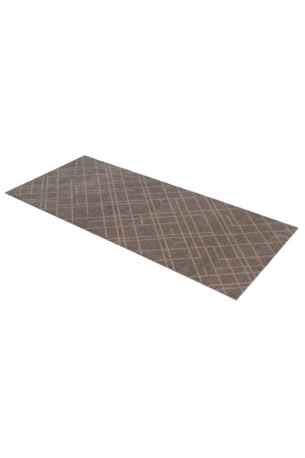 00639 polyamid 67x150 Lines Sand/Beige