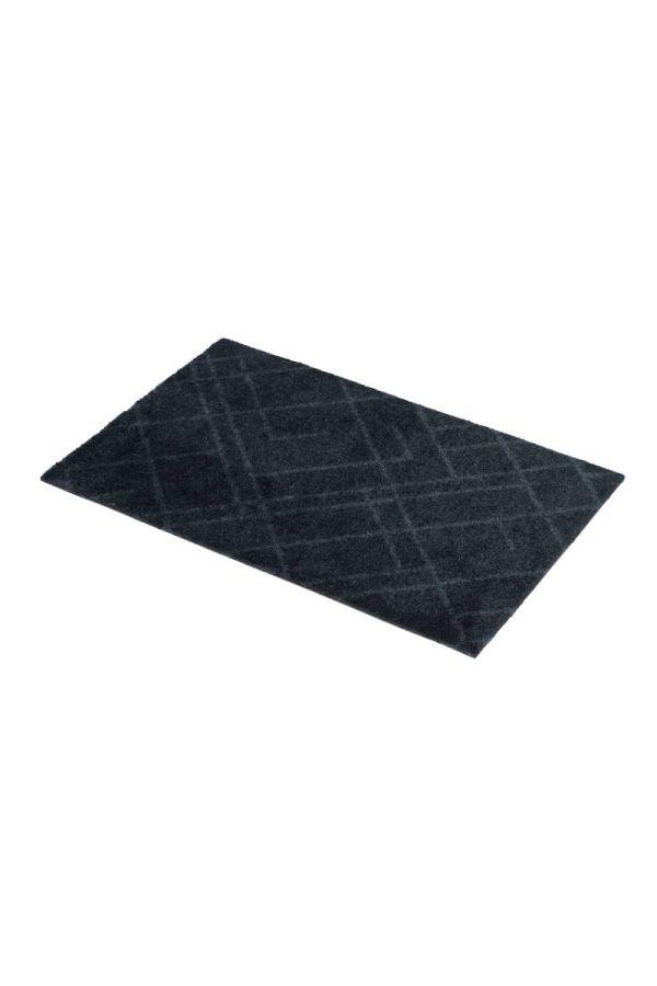 00642 polyamid 40x60 Lines Dark grey