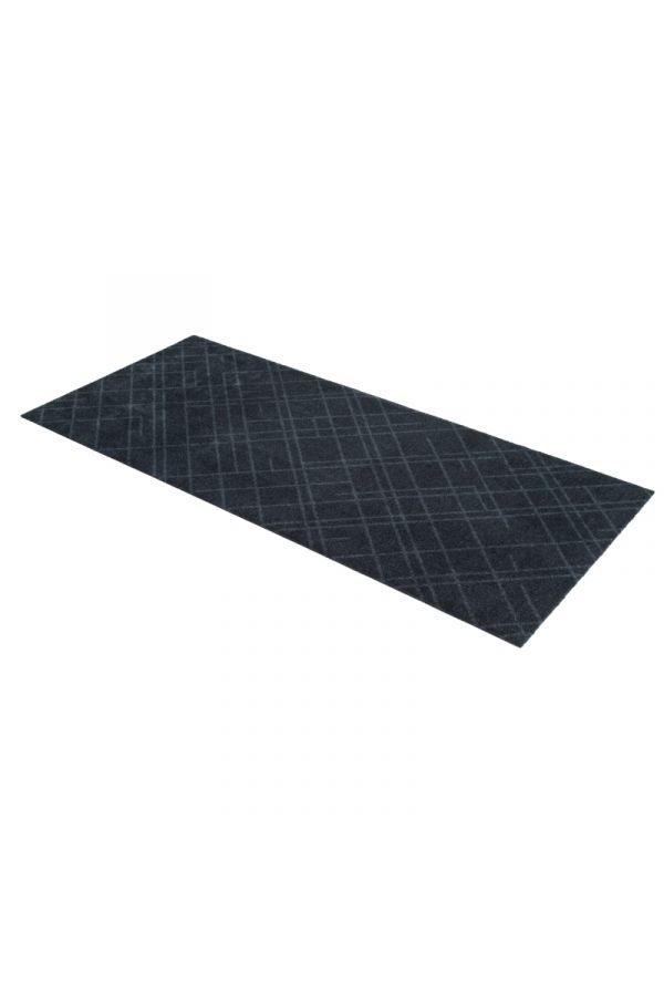 00645 polyamid 67x150 Lines Dark grey