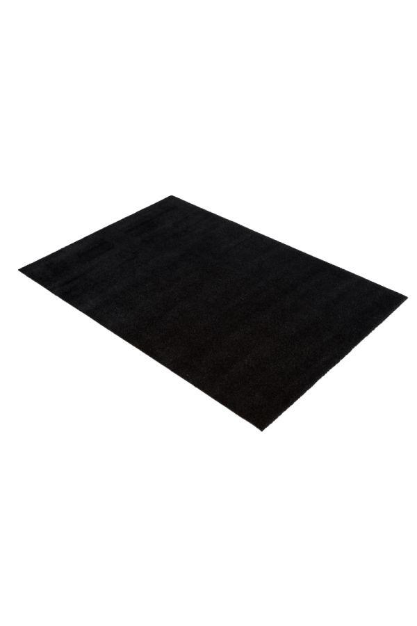 00668 polyamid 90x130 Unicolor Black