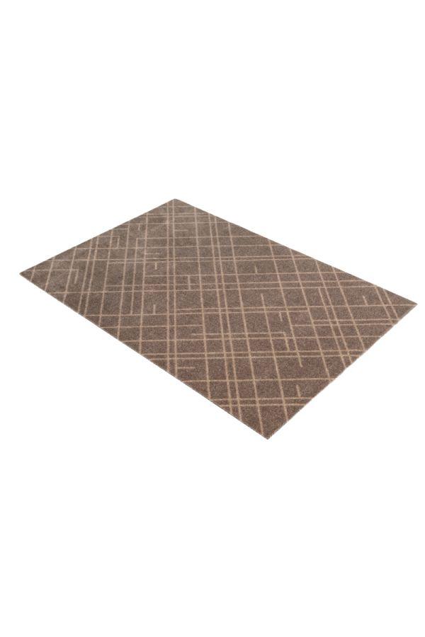 00674 polyamid 90x130 Lines sand