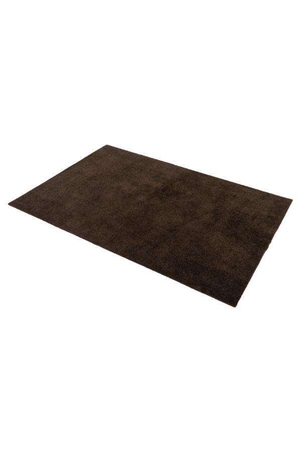 00694 polyamid 90x130 Unicolor Dark Brown
