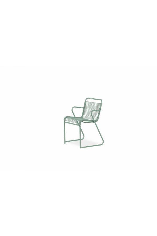 Lido Dining Armchair 069 PVC SG Salviegrønn