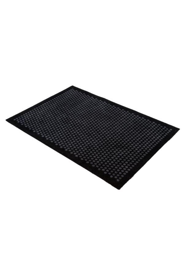 00670 polyamid 90x130 DOT black/grey
