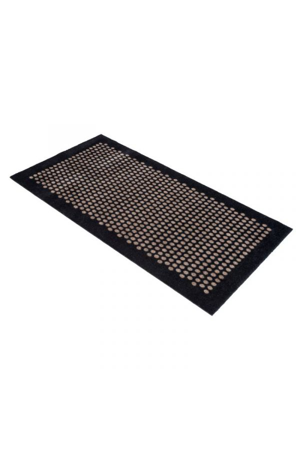 00712 polyamid 67x120 DOT Black/Sand