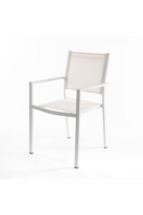 Aria chair 840TX BSBI Hvit