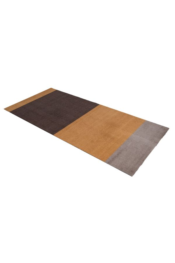 10009 polyamid 90x200 Stripes multi brun