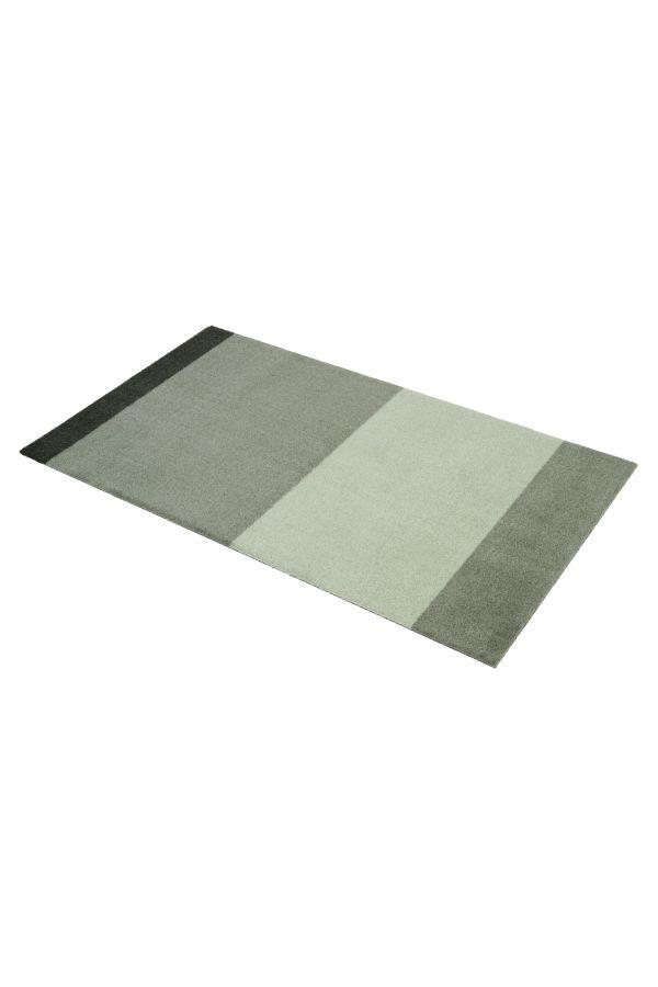10019 polyamid 67x120 Stripes multi grønn