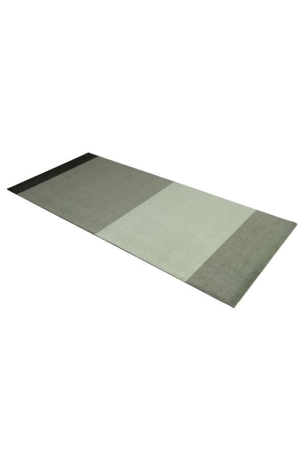 10021 polyamid 90x200 Stripes multi grønn