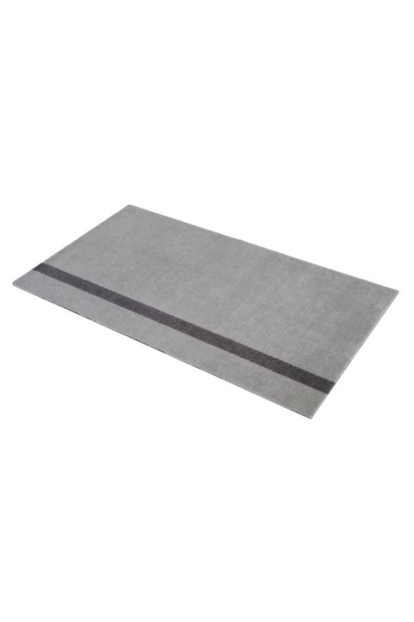 10026 polyamid 90x130 Stripe grå