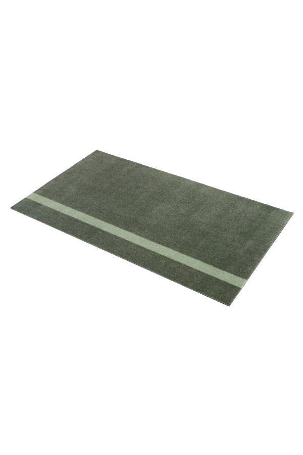 10029 polyamid 90x130 Stripe grønn