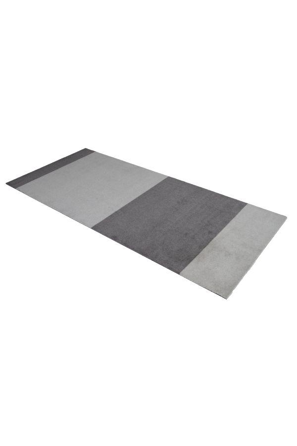 10006 polyamid 90x200 Stripes multi grå