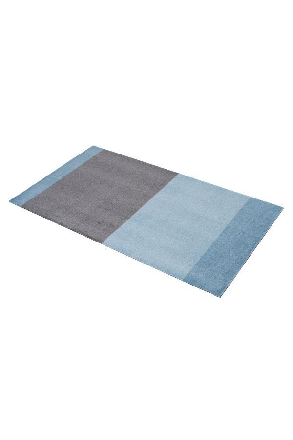 10022 polyamid 67x120 Stripes multi blå